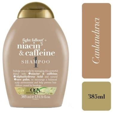 Niacin+Caffeine Şampuan 385Ml -Organix